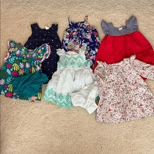 12-18m dress bundle